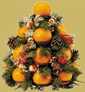 Albero Arance di Natale